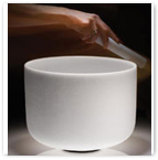 Quartz Crystal Singing Bowl For Sound Therapy