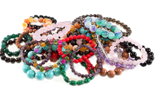 Gemstone Lava Aromatherapy Bracelets And Jewelry